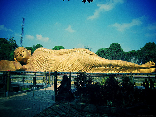 We have that Sleeping Buddha too!