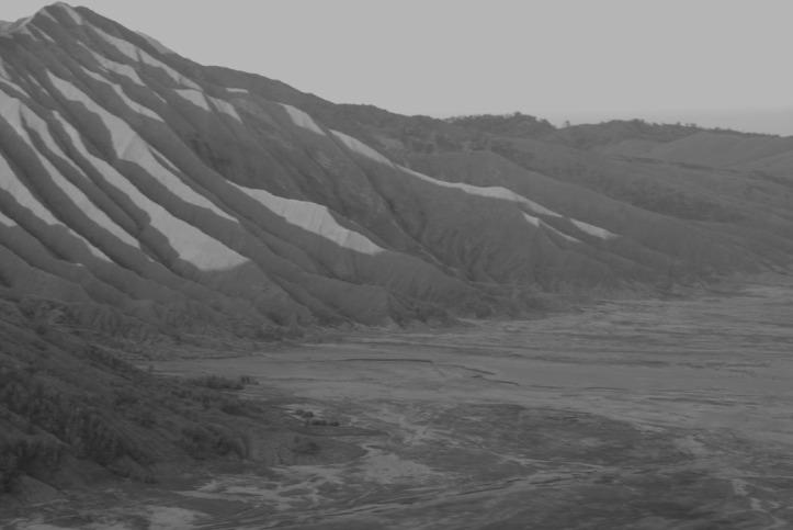 lereng gunung