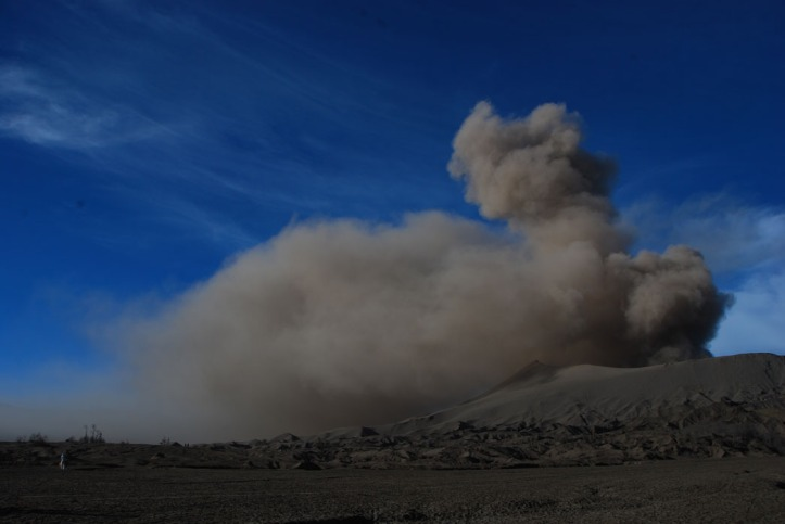 still......there's eruption
