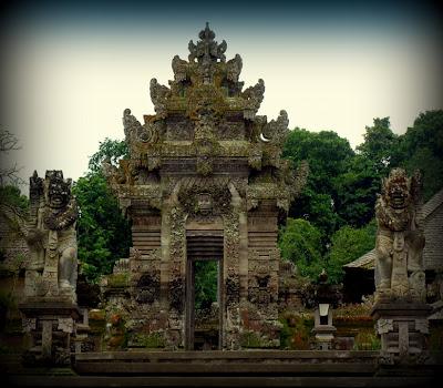Gerbang Desa Panglipuran