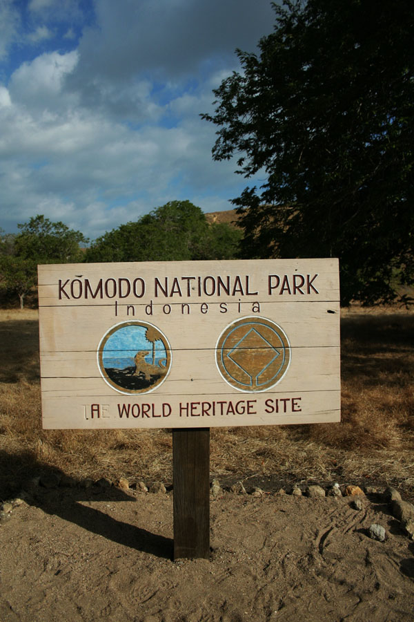 welcome to komodo island