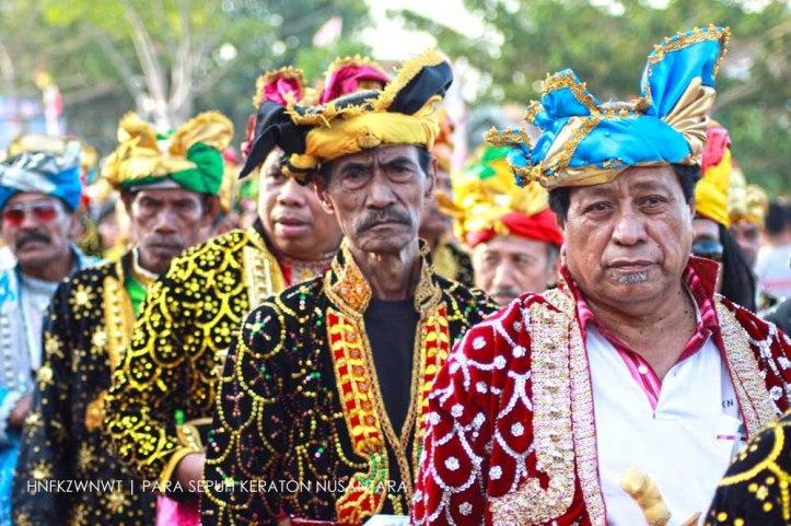 Para Sepuh Keraton Nusantara