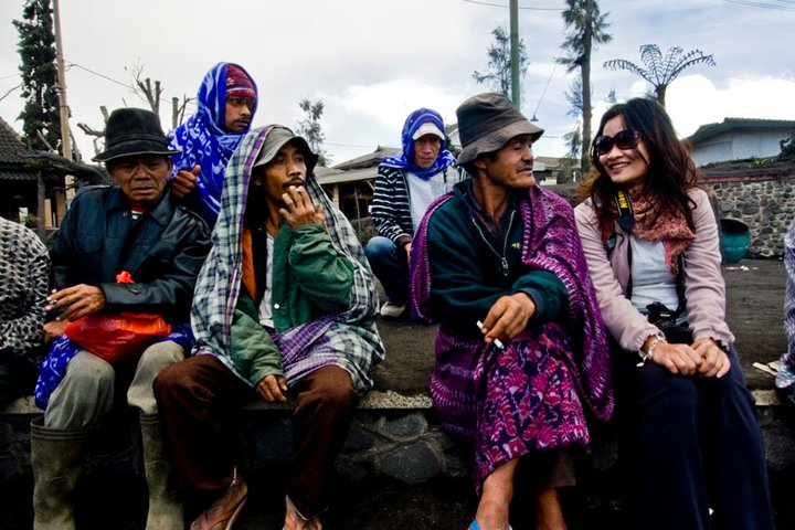 foto was taken by happy at Bromo