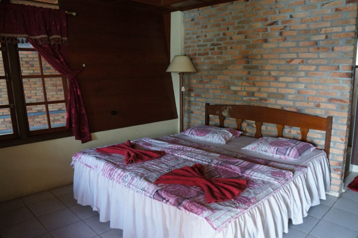 contoh kamar di Romlan Guest House