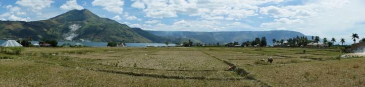 baru abis panen :) kalau datangnya pas musim tanam padi/panen pemandangannya sejutaaaa kali lebih bagus