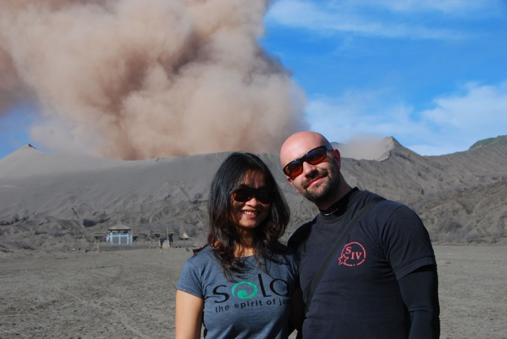 Bromo 2010 with my friend Andi