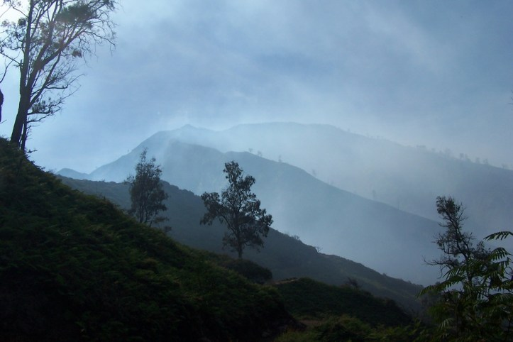 On the way to Ijen
