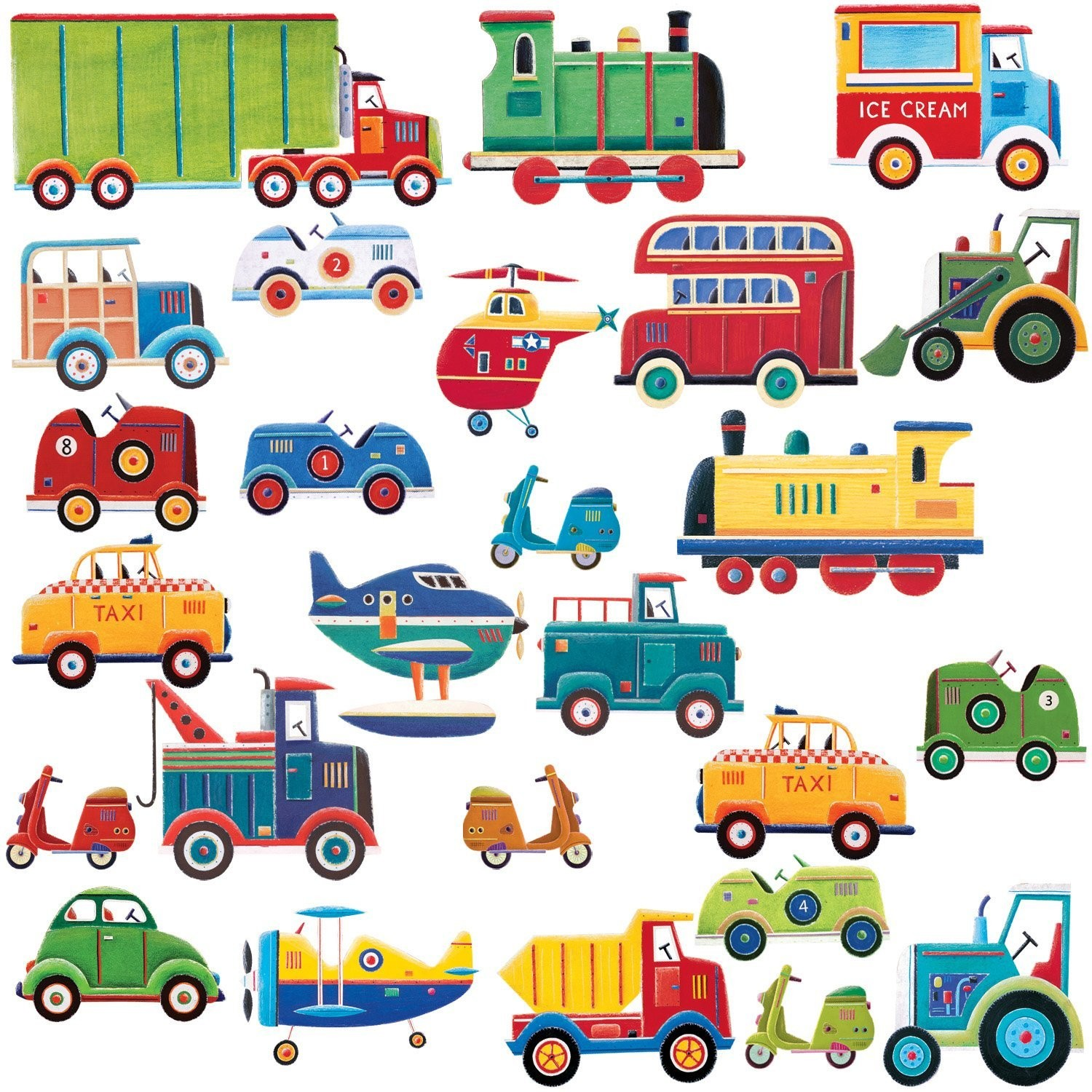 Art Clip Planes Cars Train And