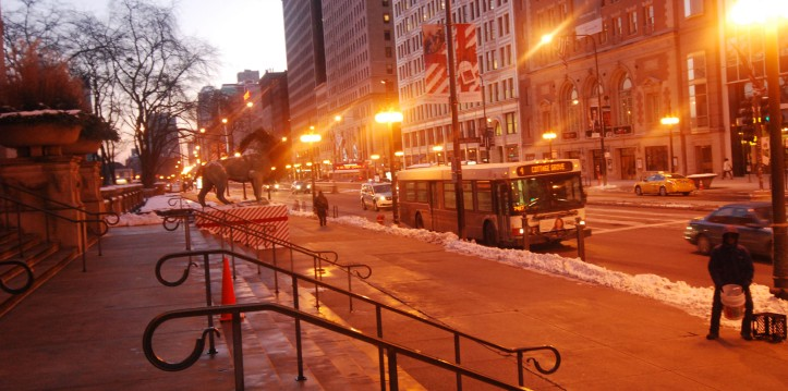 Bus di Chicago