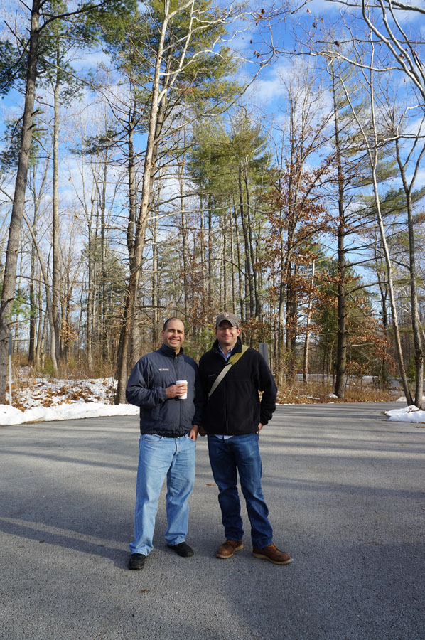 Matt dan Juan. Juan ini temen baik si Matt dan dia ngajar di salah satu universitas di NYC :)