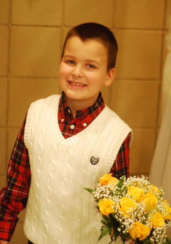 My flower boy :)