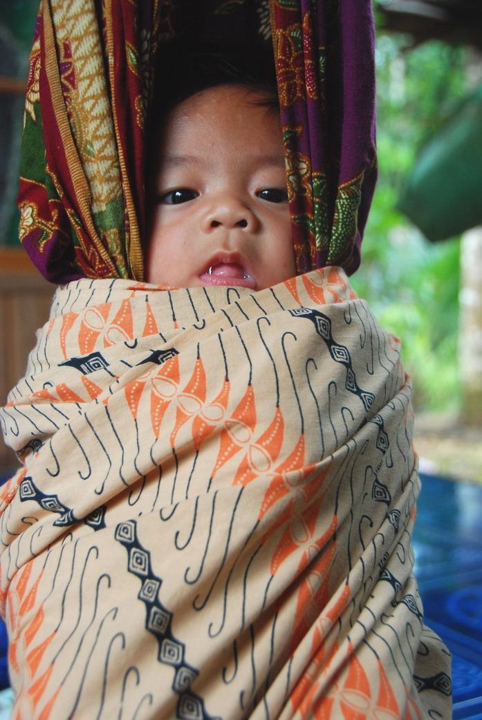 Ayunan anak di Loksado Kalimantan