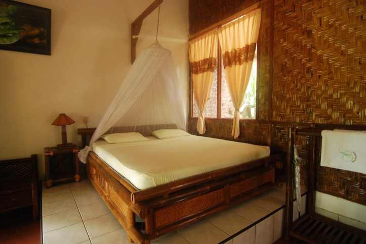 Kamar di Eco Lodge