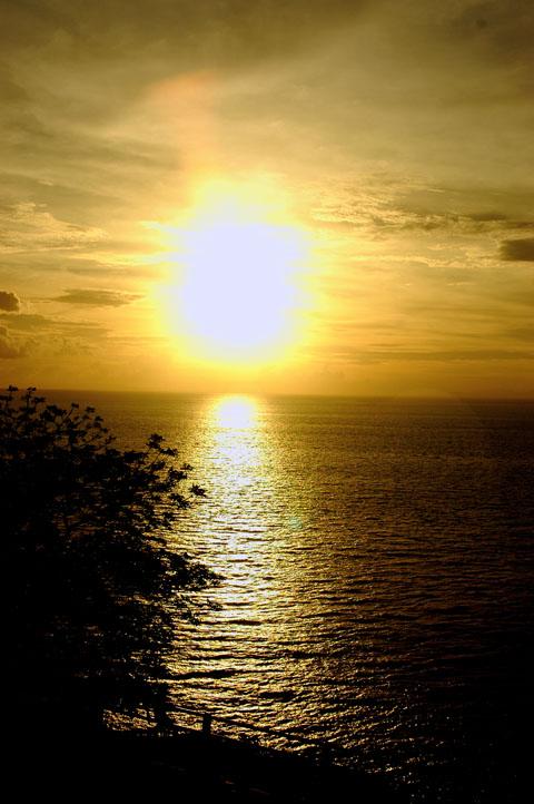 Menjelang sunset
