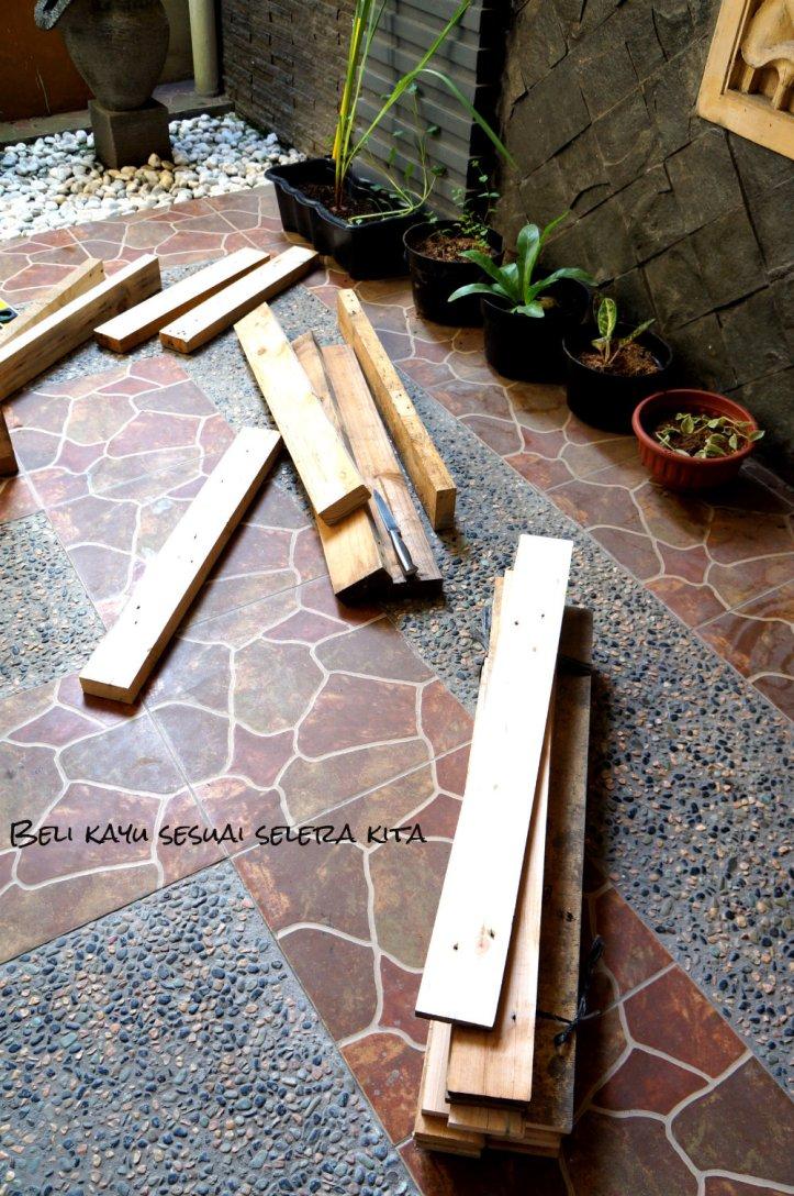 kayu yang diperlukan