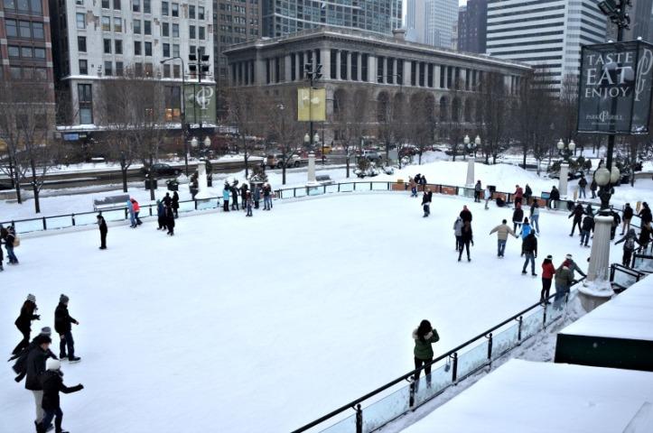Ada ice skating di dekat sini