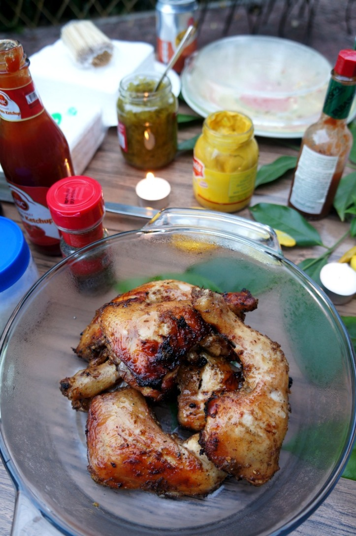 Jerk chicken resep Greg dari Jamaica. Super duper enak