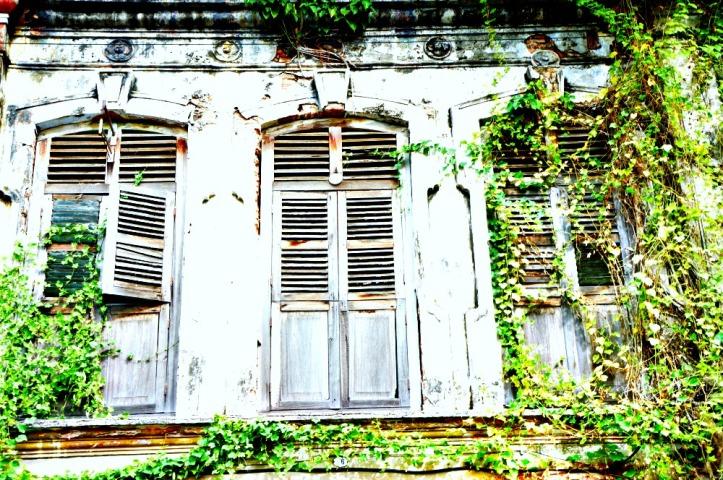 Salah satu rumah tua di sekitaran George Town