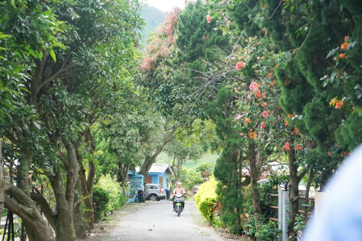 Menuju desa