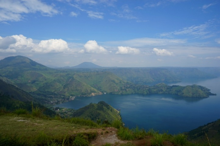 Danau Toba from one tree hill point