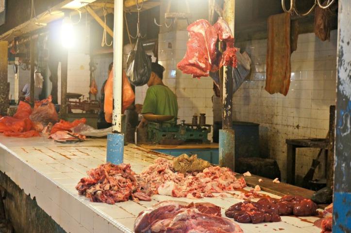 Bagian daging yang biasanya saya hindari karena gak tegaan tapi suka makannya.