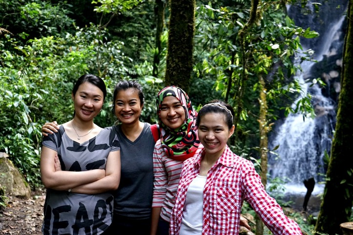 Evi, me, Ai and Lidia