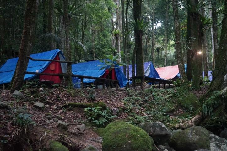Areal camping taman simalem resort