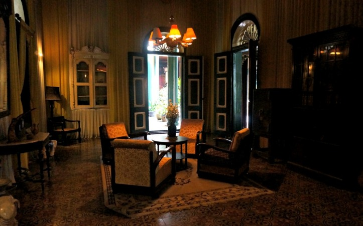 Ruangan Melayu tempat Tjong A Fie biasa menjamu sultan Deli