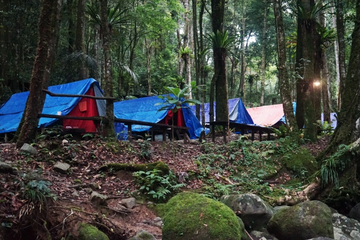 Areal camping
