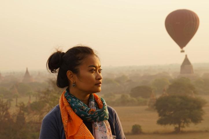 Me in Bagan