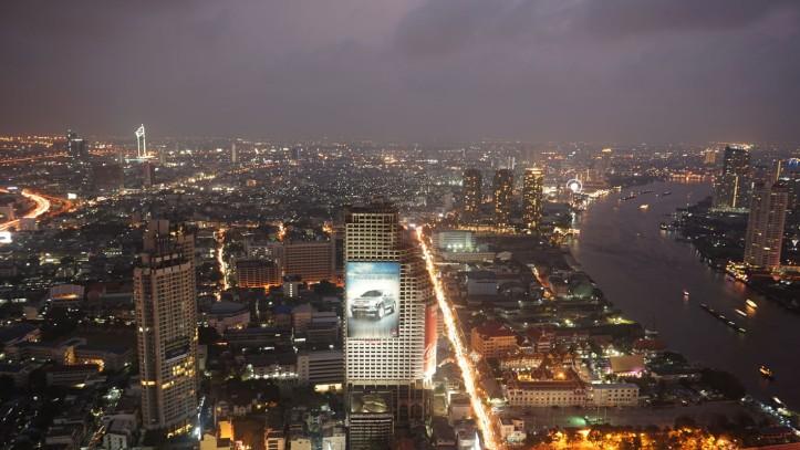 Sirocco Restaurant Bangkok - State Tower 63rd Floor