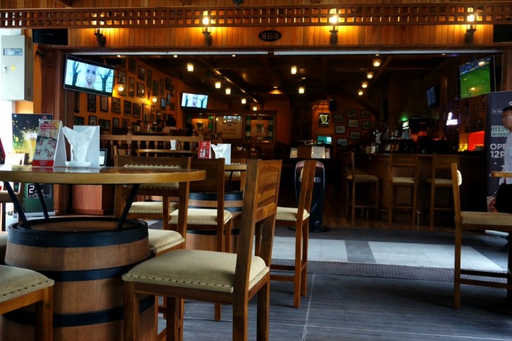Irish Bar & Restaurant Centre Point
