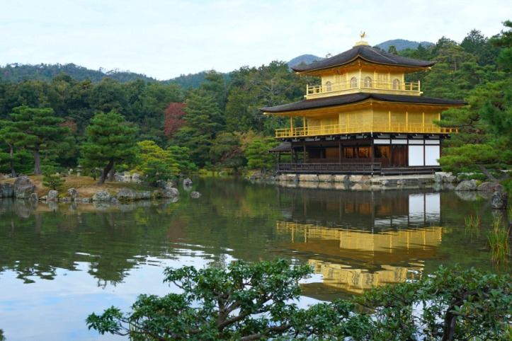 Golden Temple Kyoto-Jepang