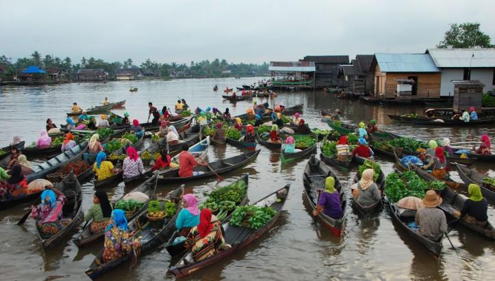 Pasar Terapung Lok Baitan - Bajarmasin