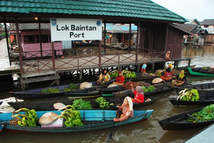 Pasar Terapung Lok Baintan - Bajarmasin