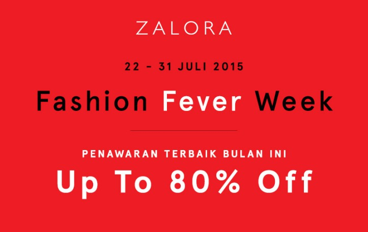 Zalora Fashion Fever Week