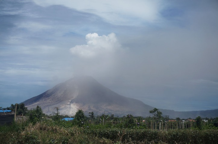 GUnung Sinabung - North Sumatera