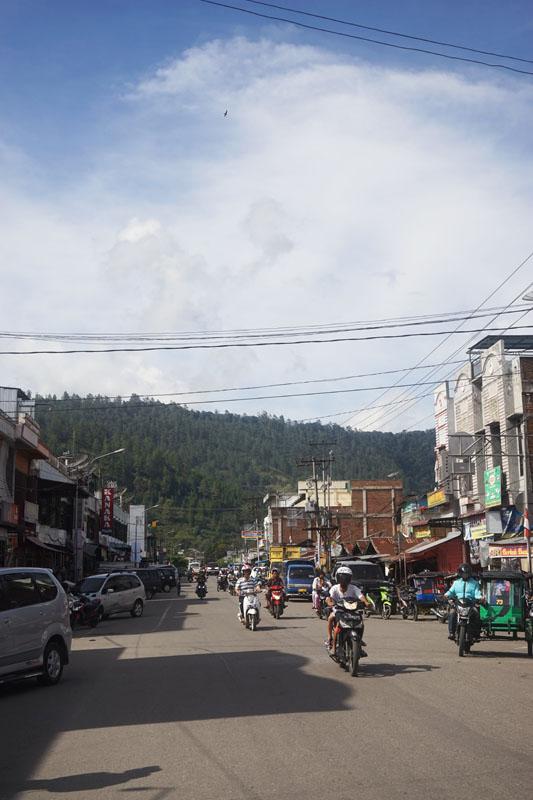 Kota Takengon di Pagi hari