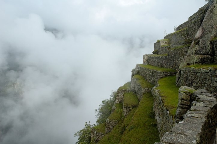 Terraced Fields in Machu Picchu, Peru. Photo #11 by Christophe Meneboeuf http://www.lovethesepics.com/