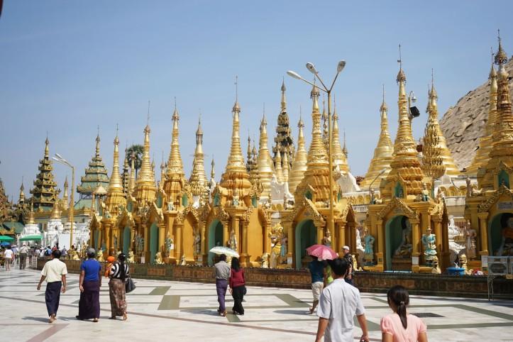 Pagoda Shwedagon Yangon Myanmar
