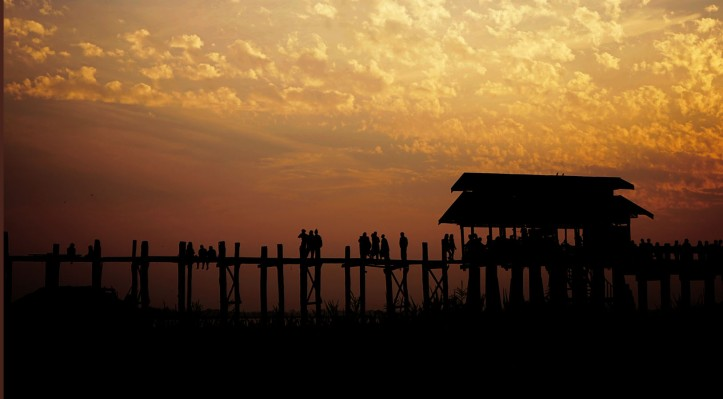 U-Bein Bridge Mandalay Myanmar
