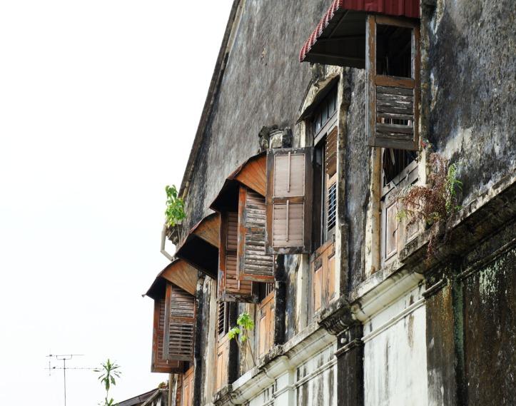Jendela-jendela cantik dirumah-rumah Peranakan
