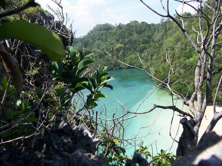 Pulau Sempu tahun 2007