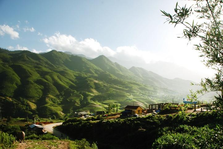 Pertanian di Sa Pa Vietnam