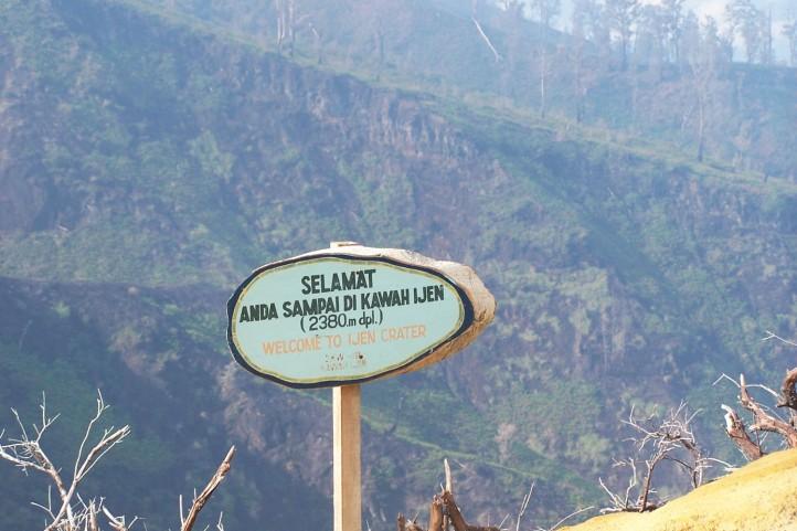 Pagi hari di Ijen Jawa Timur