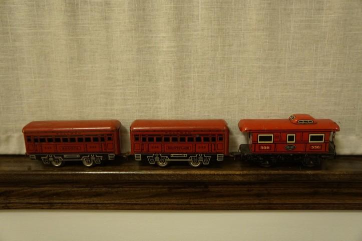 Miniatur kereta api kenangan dari masa kanak-kanak