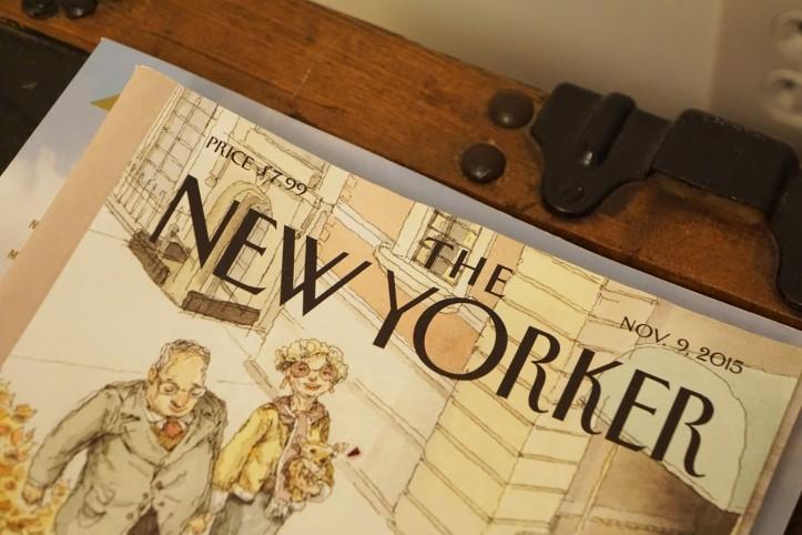 Majalah New Yorker dari perjalanan mereka