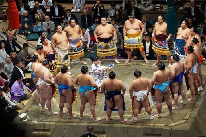 Sumo Grand Champion 2016 - Tokyo