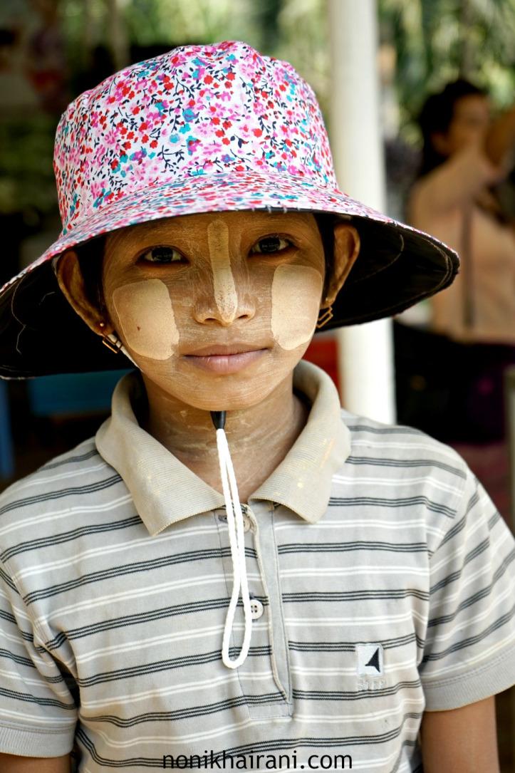 Thanaka Myanmar