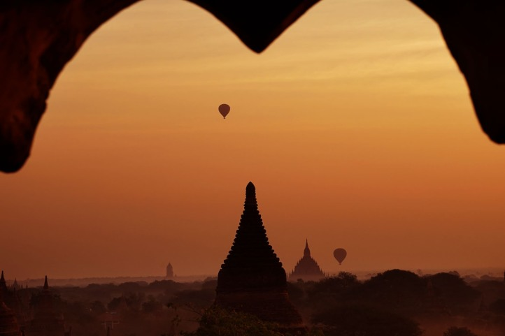 Sunrise Bagan Myanmar